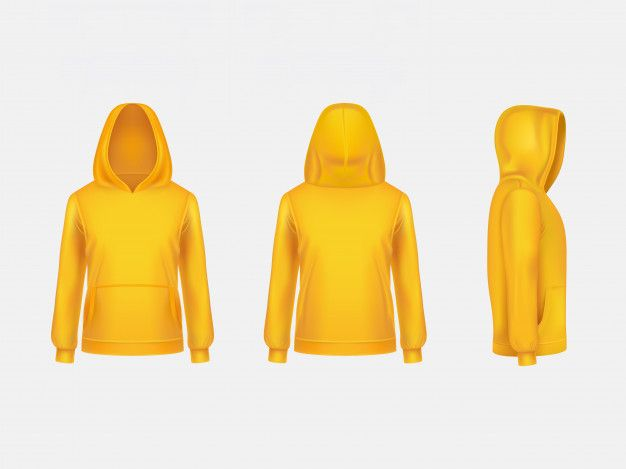Download Download Yellow Hoodie Sweatshirt 3d Realistic Mockup Template On White Background For Free Yellow Hoodie Sweatshirts Hoodie Custom Hoodies