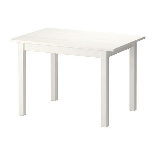 SUNDVIK Children's table - white - IKEA. To go with  white chairs we already have. For lounge/dining?