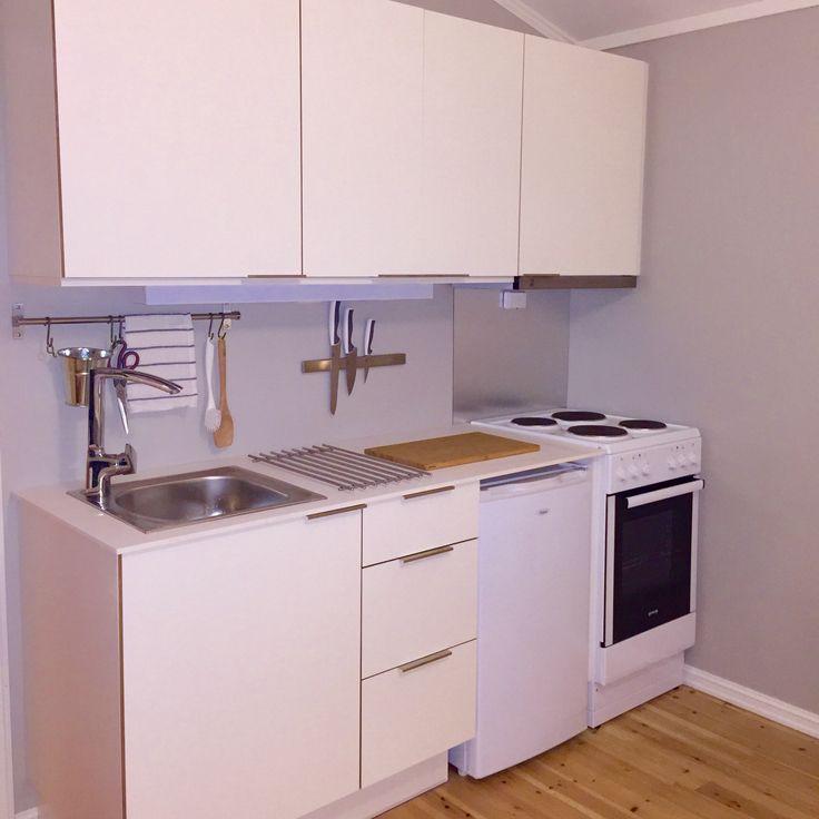 Kitchenette studio flat #Foss Kjøkken