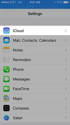 iphone icloud find my phone