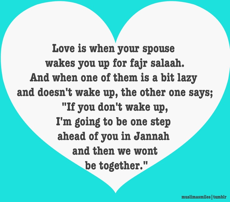 THIS is true love...so sweet!!!! May Allah grant all of us such spouses ameeeeeen