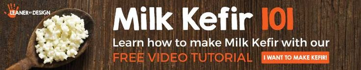 by LeanerbyDesign.comWhat Is Kefir Milk And Why Should You Make It? October 6, 2016What Is Kefir Milk And Why Should You Make It?by LeanerbyDesign.com