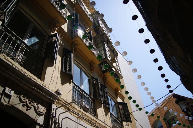 Sceneries from Malaga city centre - where festive meets vintage. #vintage #culture #Malaga #Spain #2014 #traveling  ©MarikaLindström