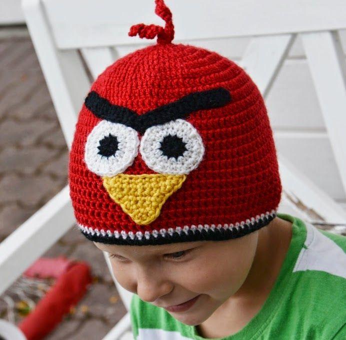 Angry Birds Heklet, norsk mønster