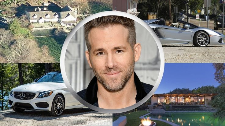 RYAN REYNOLDS ● BIOGRAPHY ● House ● Cars ● Family ●  Net worth ● 2017