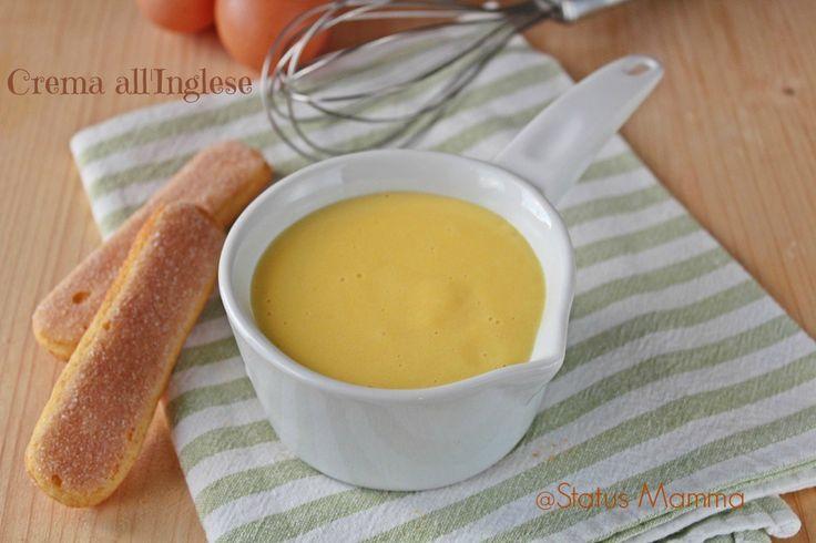 Crema all inglese versione facile : ricetta e passo passo per preparare una crema semplice di facile riuscita.