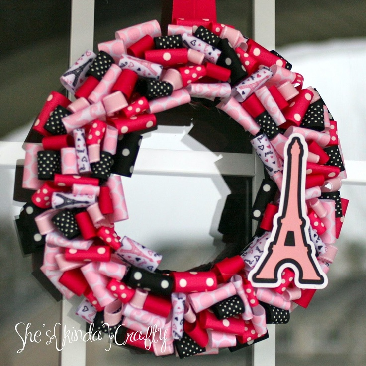 Paris Wreath