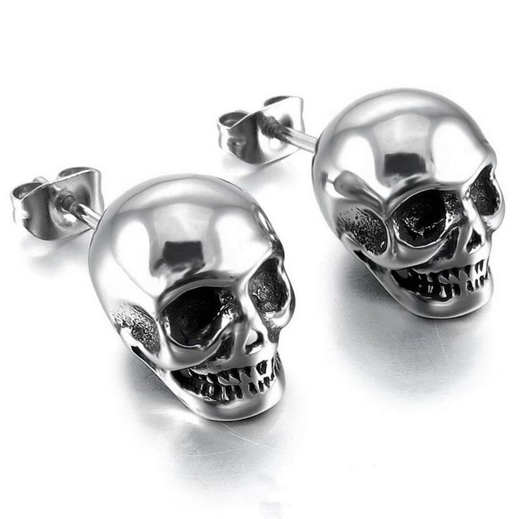 Ideal Skull Skull Head New Fashion Unisex Trend Earrings