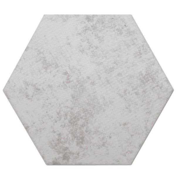 Heksagon Piramidal - płytki ścienne Base Dec. Piramidal Perla 17x15