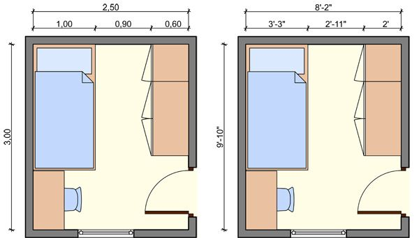 Kids bedroom layout kids bedroom dimensions kids room for Chambre 8x10