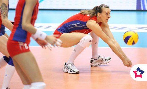 Евгения Эстес – единственная в мире волейболистка, принимавшая участие в шести Олимпийских играх.