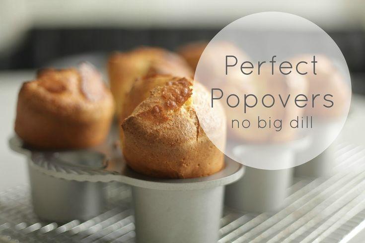 Popover recipe from nobigdill blog.
