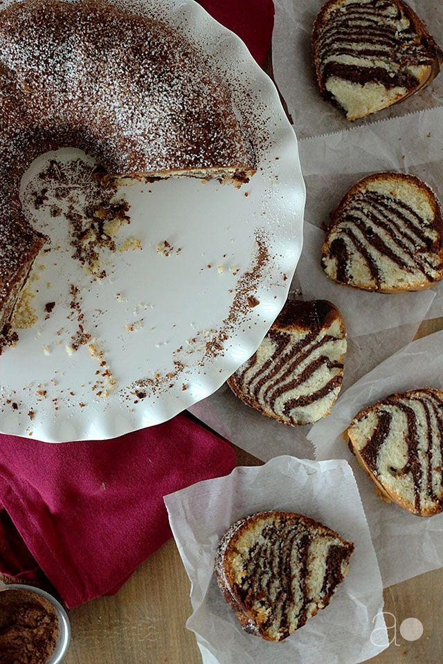 ambrosia: Zebra Buttermilk Pound Cake