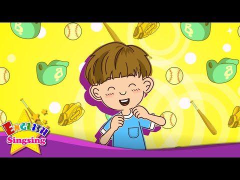 私は野球が好き。テニス。 (嗜好) - 子供のための英語の歌 - YouTube