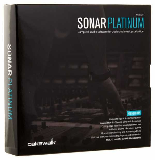 SONAR Platinum v22.7.0.41 WiN Team R2R   04 Aug 2016   2.15 GB FULL SUiTE SONAR is more than just a digital audio workstation - it's the…