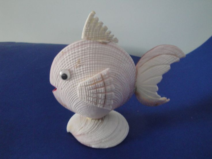 Sea Shell Fish Shell Figurine Philippines