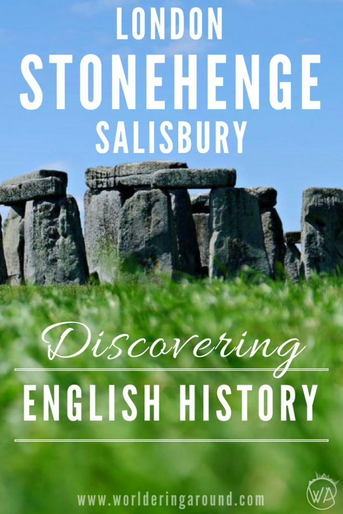Discover English history in Stonehenge, Salisbury and London