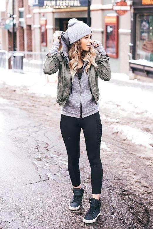 46 Die schönsten Winter-Outfits, die Sie 2019 besitzen müssen # Frauenmode