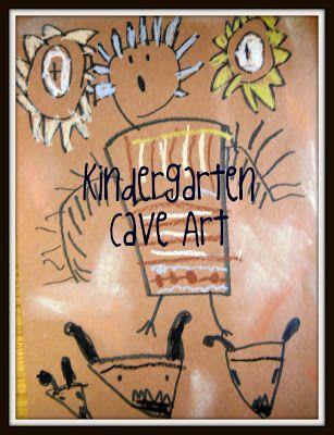 kindergarten cave art