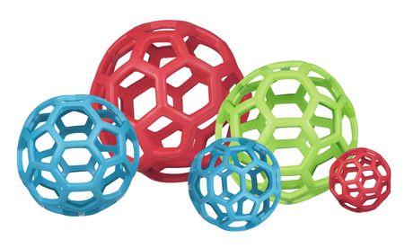 JW Pet Hol-ee Rollerジェイダブリューペット ホーリーローラー 網状ボール炭素分子の構造からヒントを得た、画期的デザインの犬用ボール。特殊な構造と高品質なラバー素材により…