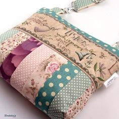 'For My Angel' Patchwork #Handmade #Bag by #Lendule53