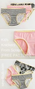 NEVER buy knickers again: Free Handmade Childrens Knickers pattern - The Handcrafted Collective