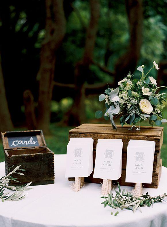 Elegant and Sophisticated Woodlands Wedding