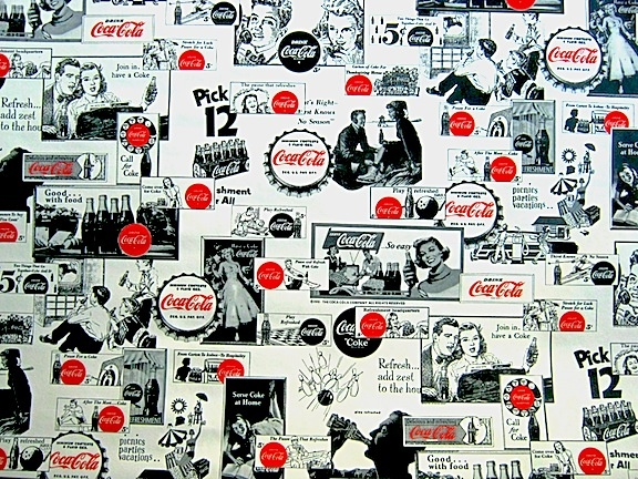 27 best coca cola wallpaper images on pinterest coca cola wallpaper coke and cola - Vintage coke wallpaper ...