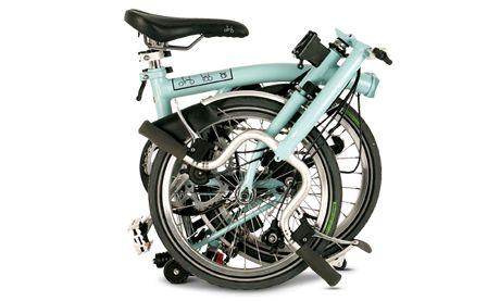 Brompton foldable bike