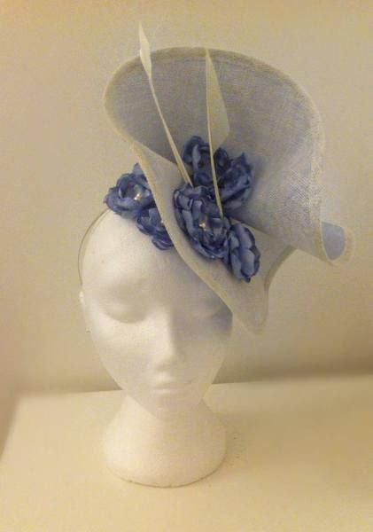 by REBECCA MOLLOY #millinery #hats #HatAcademy