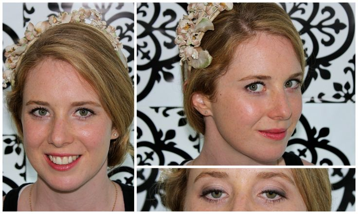 A makeup lesson for the lovely Lindsay on how to create a natural bridal look for her wedding day!