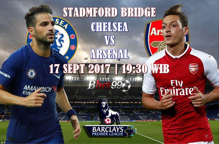 Premier League Chelsea VS Arsenal Tanggal 17 September 2017 Jam 19:30 WIB. Saksikan pertandingan serunya guys dan jangan lupa Daftar sekarang juga dan dapatkan bonus 100%  FOLLOW => @BBET99.ID LIVECHAT : BBET99.COM BBM : D86BEE8B LINE : ID.BBET99