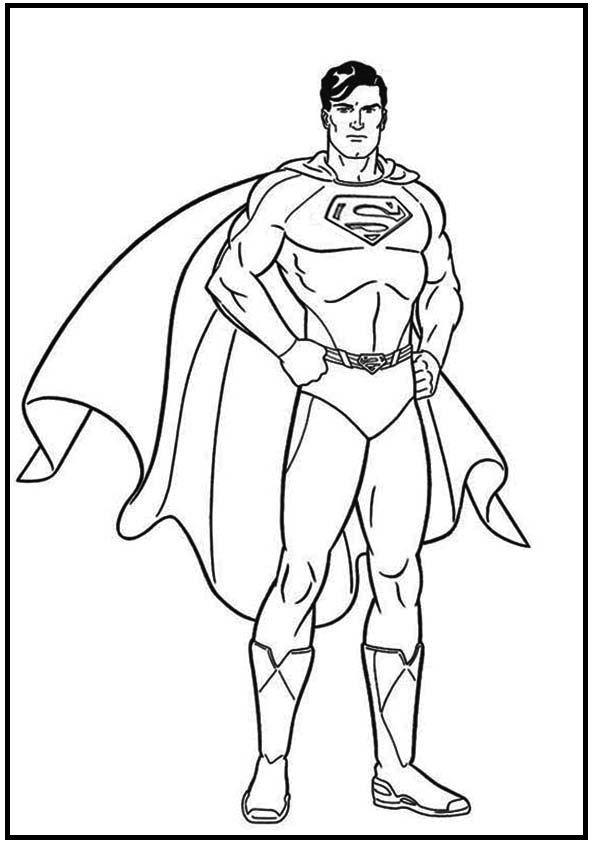 30 besten Superman Bilder auf Pinterest Malbücher