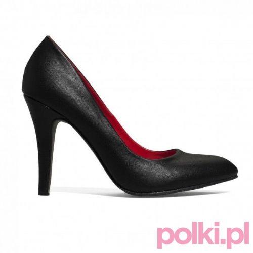 Czarne szpilki, New Yorker #buty #szpilki #shoes