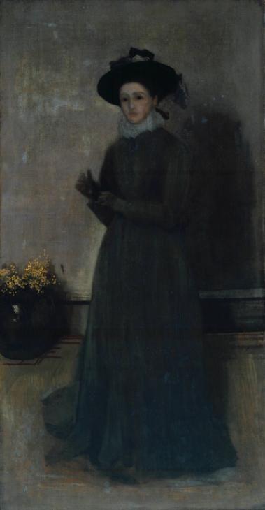 Джеймс Эббот Макнейл Уистлер, - Мисс Агнес Мэри Александр'С.1873