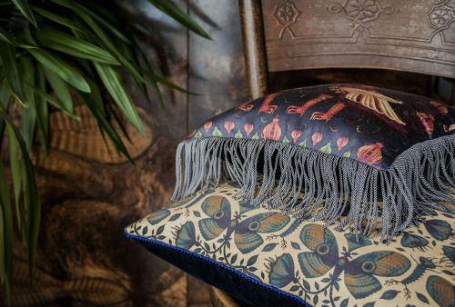 pernowka and tomski&polanski goods. Illustrated pillows.