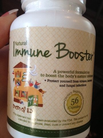 Immune Booster // Our immune booster is a natural alternative remedy to antibiotics.