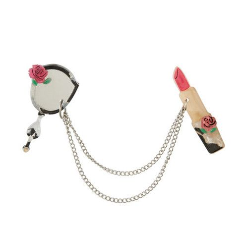 Erstwilder Limited Edition  Freshen Up Double Brooch / Cardigan Clips, $34.95 (AUD)