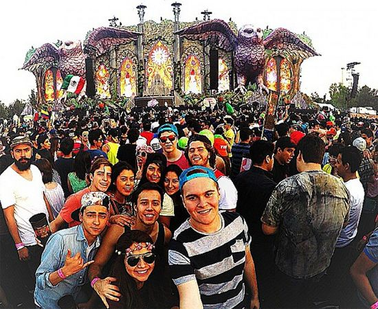 Flyboost Powers Live Social Media Display at Electric Daisy Carnival Mexico 2015