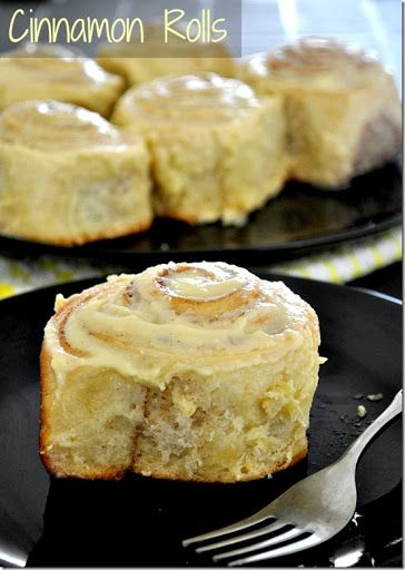 Simple Eggless Cinnamon Rolls Recipe with Cream Cheese glace ~ Prema's Culinary | How to Cook ~ Cooking Recipes ~ Eggless Baking