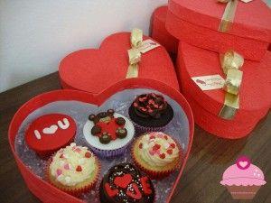 Cupcakes para dia dos namorados                                                                                                                                                                                 Mais