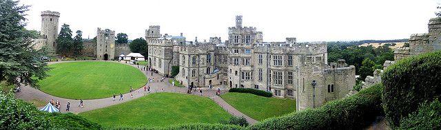 (Castillo de Warwick)