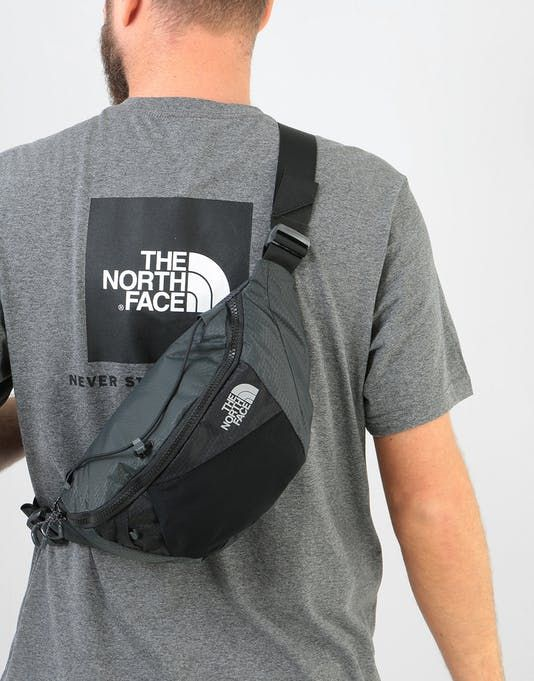 5ba97bcfa The North Face Lumbnical Cross Body Bag - Asphalt Grey/TNF Black ...
