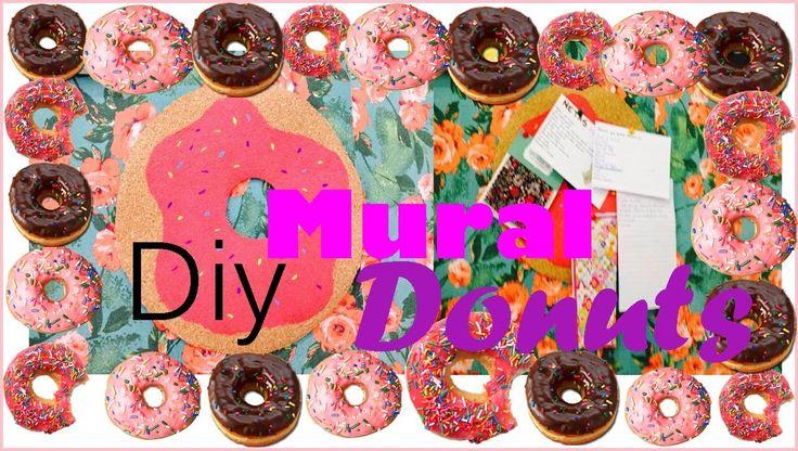 Diy Decoração: Como fazer um mural em formato de donuts