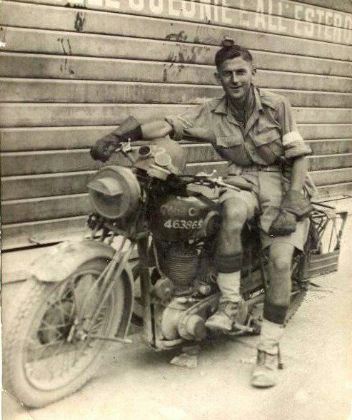 Army Traveller Bsa Motorcycle Classic Bikes Bike