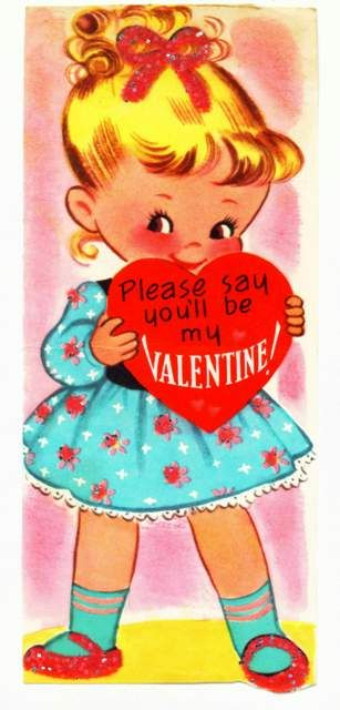Please say you'll be my valentine! 1963