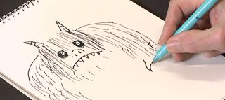 How to Draw Monsters by Tony Ross, digitaldivideandconquer  #Drawing #Monsters
