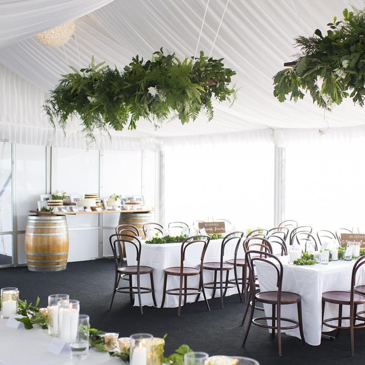 Inside the Wedding Marquee @ South of Perth Yacht Club www.sopyc.com.au