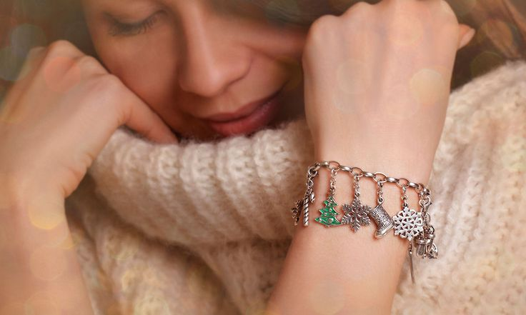 LeDile charm bracelet http://ledile.ru/main/. #interdema #charms #jewels #bracelets #charmbracelets