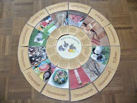 Legekreise zum Osterfest von Gerda Gerda war wieder sehr fleißig und hat verschiedene Legekreise zum Osterfest entworfen. Diese wirklich t...